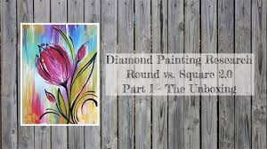 <b>Diamond</b> Painting Research: Comparing Round & Square 2.0 Part I ...