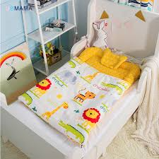 120*70cm High quality cotton foldable sleeper portable kids <b>bed</b> soft ...