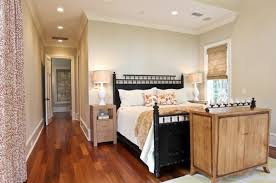 view in gallery black bed with white furniture