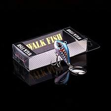 Walk Fish <b>Metal Mini VIB with</b> Spoon Fishing Lure 5.6g/9.3g/16.9g ...