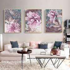 Large flower <b>canvas</b> prints – Boutika #wallart #flowers #painting ...