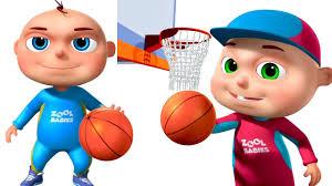 Zool Babies Playing Basket <b>Ball</b> | Animated <b>Funny</b> Cartoon | Cartoon ...