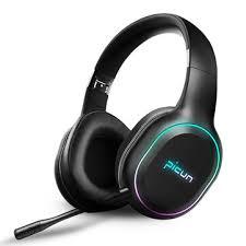 Picun <b>P80S</b> bluetooth 4.1 <b>Gaming Headset</b> LED Lighting Noise ...