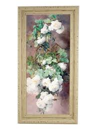 """Картина в винтажной <b>раме</b> """"<b>Белые</b> розы"""" Elenadecor 7432201 в ..."""