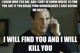 Liam Neeson Phone Call memes | quickmeme via Relatably.com