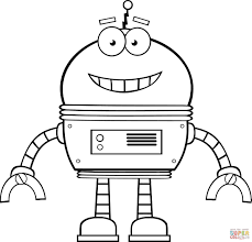 Small Picture Robots coloring pages Free Coloring Pages