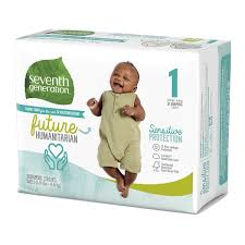 Seventh Generation Baby <b>Diapers</b> Sensitive Protection <b>Free & Clear</b> ...