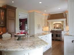 kitchen cabinets with granite countertops: white kitchen cabinets granite countertop everest white granite countertops  everest white park ridge white kitchens pinterest black