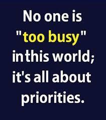 I Know Your Busy Quotes. QuotesGram via Relatably.com