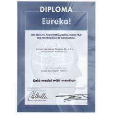 золотая <b>медаль</b> с отличием, BRUSSELS EUREKA 2009 ...