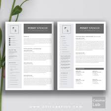 modern resume template cover letter 1 2 3 page template allcupation professional resume template cv template 1 2 and 3 page resume