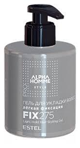 <b>Estel</b> Professional Alpha Homme <b>гель для укладки</b> волос (легкая ...