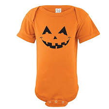 Infant Halloween Pumpkin Bodysuit Onesie: Clothing - Amazon.com