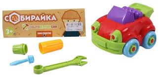 Винтовой конструктор <b>Joy Toy</b> Собирайка 7091 <b>Машина</b> ...