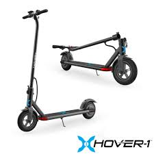 Hover-1 Dynamo <b>Electric Folding Scooter</b>, LCD Display, Air-Filled ...