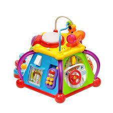 Игровой развивающий центр бизиборд для малыша со светом и ...
