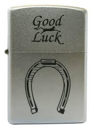 <b>Зажигалка бензиновая</b> Horse Shoe (серебристая) от Zippo купить ...