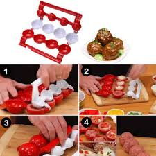 <b>1PC</b> new <b>meatball mold</b> making fish ball Christmas kitchen self ...