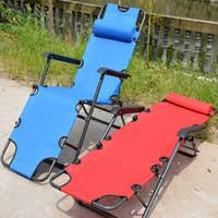 cheap folding reclining outdoor deck camping sun lounger beach chair bed office napping chairs easy carry camp bed office