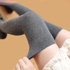 2019 New Fashion <b>Girls solid Stockings Sexy</b> Warm Thigh High ...