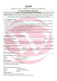 rf engineer sample resume example of a good cover letter for a rf