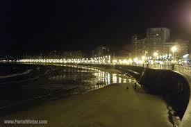 Resultado de imagen de paseo de playa de noche