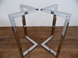 metal dining table base legs bennysbrackets:  x  bracket table legs stainless steel height  by balasagun