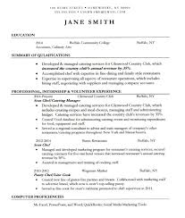 cook sample resume  x  resume  tomorrowworld cocook