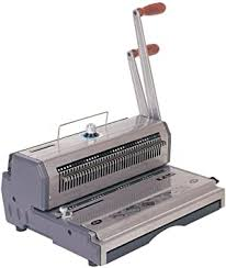 "Akiles <b>Wiremac</b>-21 14"" 2:1 Pitch <b>Wire Binding</b> Machine & Punch ..."