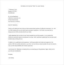 Thank You Letter After Interview – 10+ Free Sample, Example Format ... Editable Job Seeker After Interview Thank You Letter Sample