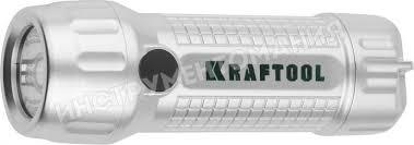 <b>Фонарь</b> ручной светодиодный <b>KRAFTOOL</b> 3AAA 3Вт <b>56760</b> ...