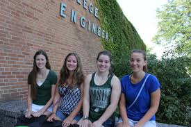 record freshman class nears college of engineering msu engineering is welcoming about 260 women freshmen a significant rise among female students in