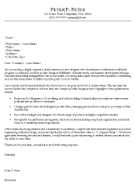 engineer cover letter example mechanical technician cover letter