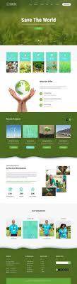 <b>Green</b> Nature WordPress <b>Theme</b> 4 natural ecology <b>plants</b> landscape ...