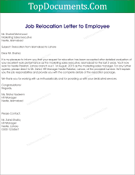 job relocation letter from employer example cover letter templates job relocation letter from employer sample top docx