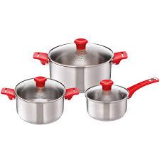 Купить <b>Набор посуды</b> Tefal Jamie Oliver <b>6</b> предметов (H802S674 ...