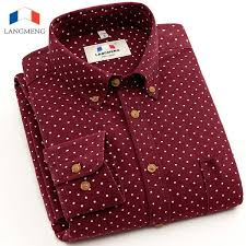 Wholesale- <b>Langmeng 2016</b> slim fit long sleeve high quality <b>spring</b> ...