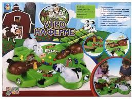 <b>Настольная игра 1 TOY</b> Утро на ферме — купить по выгодной ...