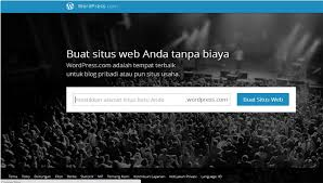 Cara Membuat Blog Gratis di WordPress
