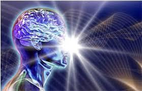 голубое свечение мозга