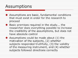 Writing Assumptions On Thesis aploon Contact