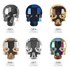 <b>10pc</b> Halloween Skull Head Nail Art <b>3D</b> Decals Jewellery Charms ...