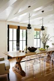 dining room love modern wood table