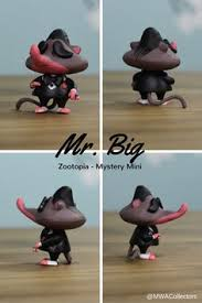 mr big funko mystery mini from the new disney movie zootopia awesome db mrbig glass top