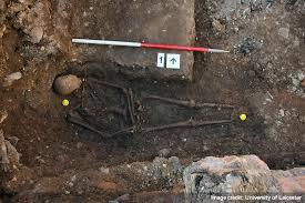 archaeological dig   skeleton found   richard iii   university of   richard iii in the grave