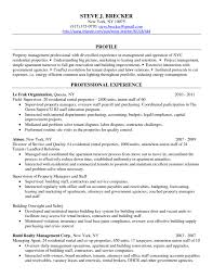 property manager resume of  seangarrette co  property management resume sample  x   property manager resume