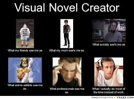 Visual Novel Creator... - Meme Generator What i do via Relatably.com
