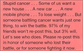 Cancer Friendship Quotes. QuotesGram via Relatably.com