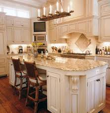 Kitchen Islands With Granite Countertops Wonderful Kitchen Island Table With Rattan Chairs And Granite