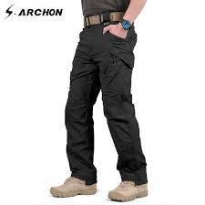 New IX9 Shark <b>Skin</b> Soft Shell Military Pants <b>Men</b> Waterproof Heat ...
